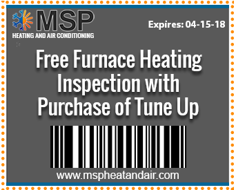 Free Furnace Heating Inspection with Purchase Of Tune Up
